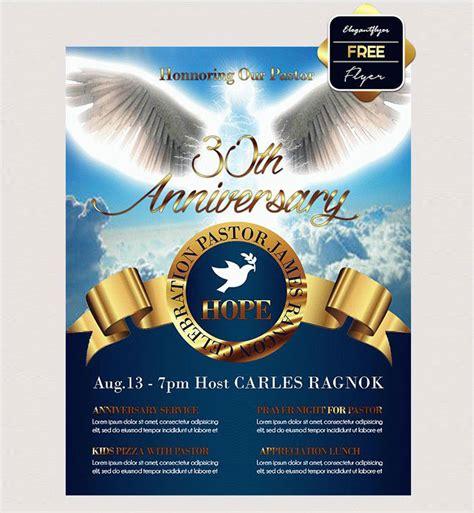 23 Church Flyer Psd Templates Free Premium Designyep Pastor Anniversary Flyer Free Template