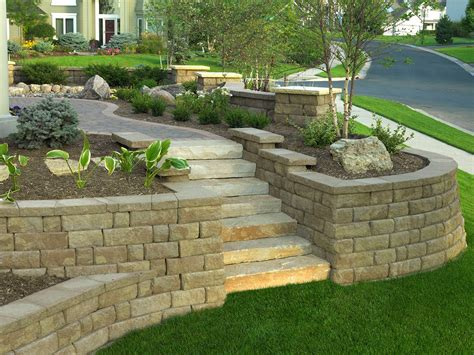 Ideas For Retaining Walls Garden Ideas For Retaining Wall Landscaping Bistrodre Porch And Landscape Ideas