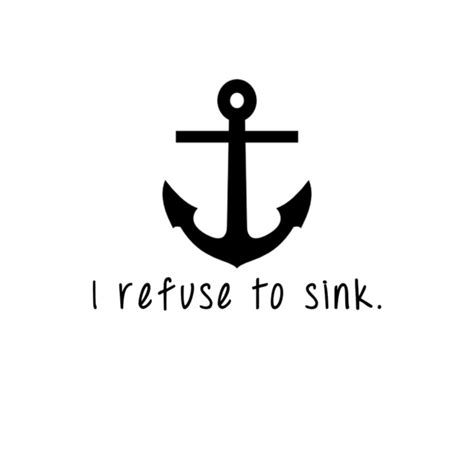 i refuse to sink searching your soul