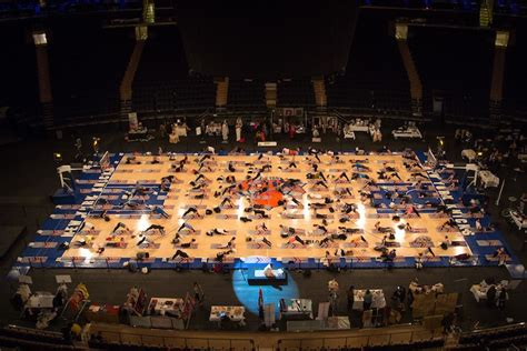 madison square garden yogis descend on madison square garden well good