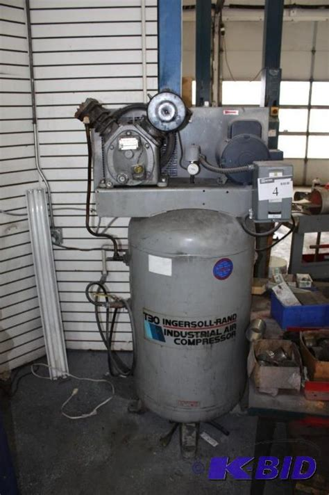 ingersoll rand industrial air compressor t30 model 242 5n burnsville auto repair