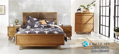 Ranjang Remaja jual set tempat tidur minimalis gaya retro model kamar tidur anak remaja modern kamar set