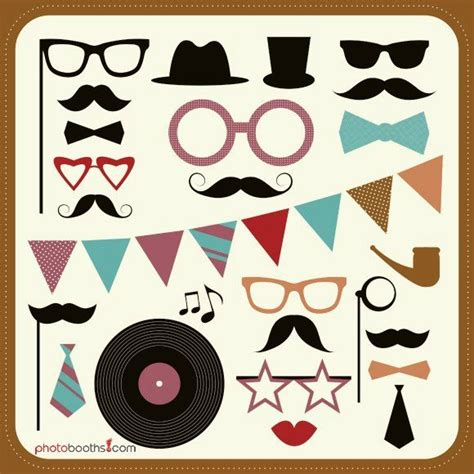 wedding photo booth props templates free photobooth prop template photo booth prop ideas