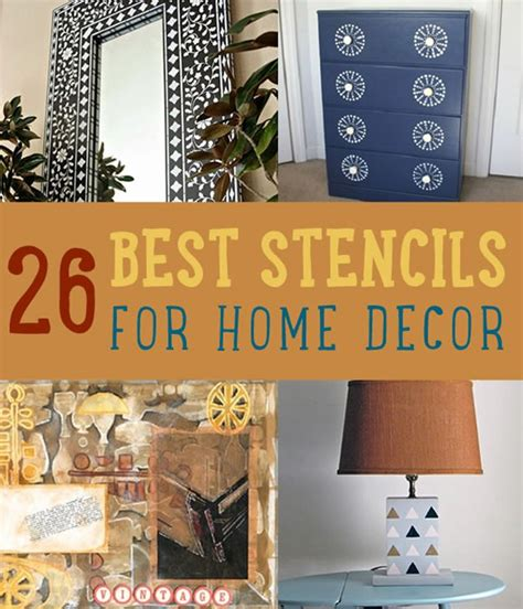 26 best stencils for home decor