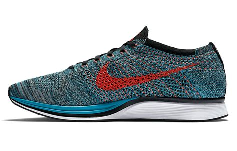 multi colored nikes nike shoes flyknit racer multi color blue alltricks de