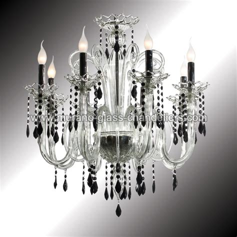 Black Murano Glass Chandelier Quot Vittoria Quot 8 Lights And Black Murano Glass Chandelier Murano Glass Chandeliers