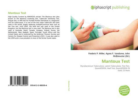 test mantoux mantoux test driverlayer search engine