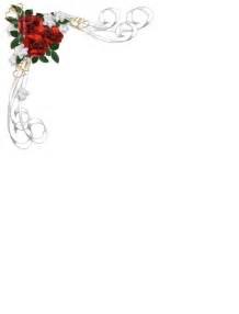 flores de hojas para imprimir bordes de flores para paginas imagui invitaciones