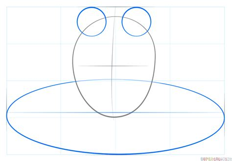 how to pad an how to draw a frog on pad step by step drawing tutorials