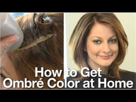 ombr 233 hair how to color dye your hair at home