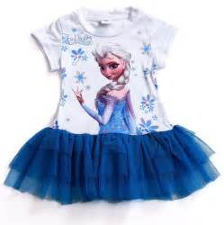 frozen dress elsa tutu lace party kids clothes baby