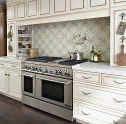 classic kitchen design with backsplashes