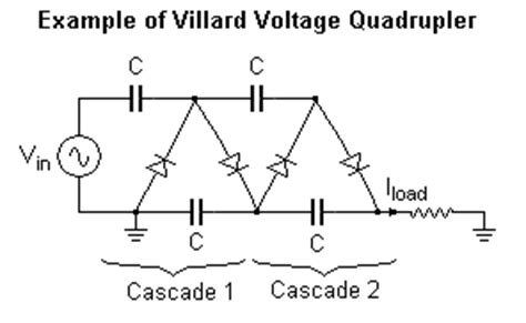 capacitor calculation in voltage multiplier voltage multiplier capacitor calculation 28 images circuit wiring solution september 2014