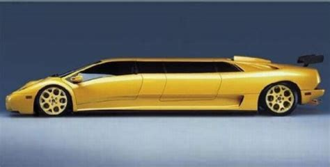 lamborghini limo yellow audi q7 stretch limo or lamborghini diablo stretch