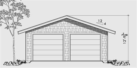 2 Car Garage Building Plans by Garage Floor Plans One Two Three Car Garages Studio