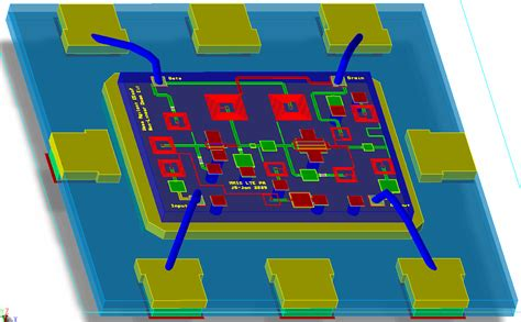layout guidelines for mmic components mmic design keysight formerly agilent s electronic