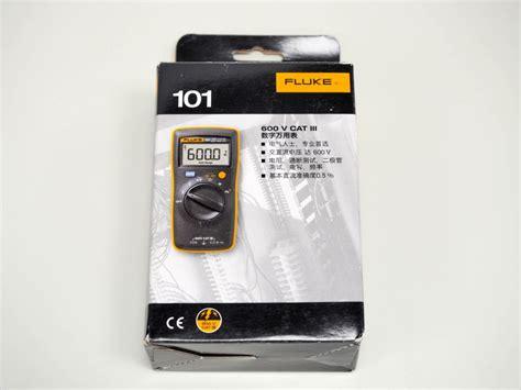 Paling Laris Digital Multimeter Fluke 101 1 開箱 fluke 101 數位萬用電錶 三用電表 便宜輕巧的基本款 g t wang