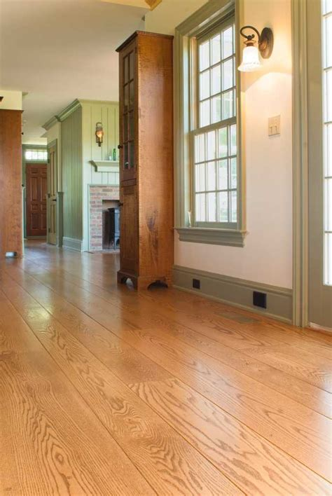 Oak Wide Plank Floors   Hull Forest Blog