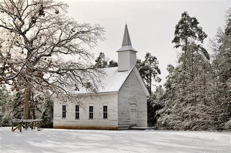 mount comfort church of christ annie s chapel in johnson county winter in arkansas