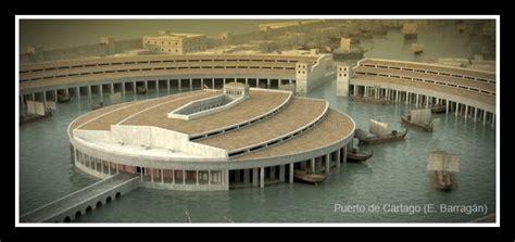 porto di cartagine egipto a roma recreaciones imperio romano en 3d