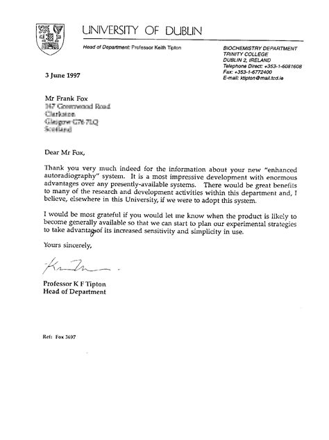Thank You Letter To Professor tcd careers cover letter excel homework