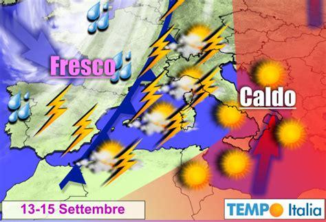 meteo tenda meteo autunnale tende a prevalere sull estate calante