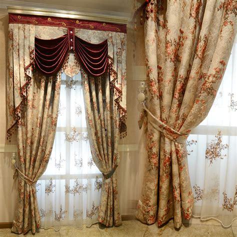 high end drapery european luxury brand high end imported jacquard curtain