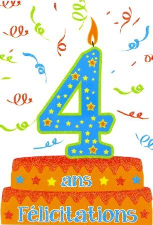 si鑒e auto 4 ans carte anniversaire ge 4 ans grossiste de carterie