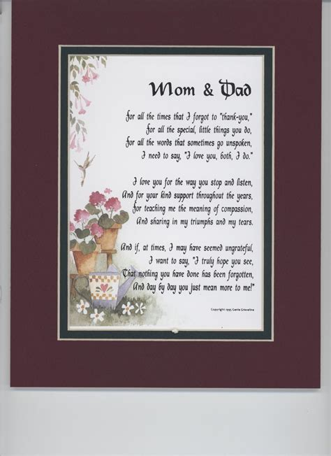 heavenly anniversary poems special 30th wedding anniversary gifts for and parents