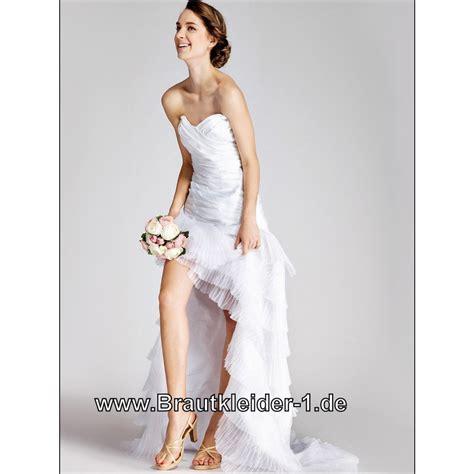 Brautkleid Schwarz Wei G Nstig by Kleider Vorne Kurz Hinten Lang Kleider Hinten Lang Vorne