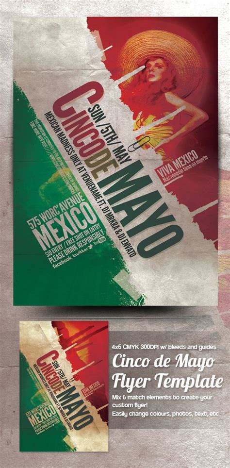 flyer design deviantart cinco de mayo flyer template by mrkra deviantart com on