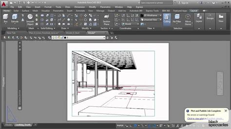 autocad view layout as print print your 3d view to pdf and open in illustrator