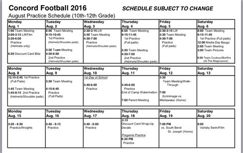 football practice schedule template 28 football practice schedule template practice