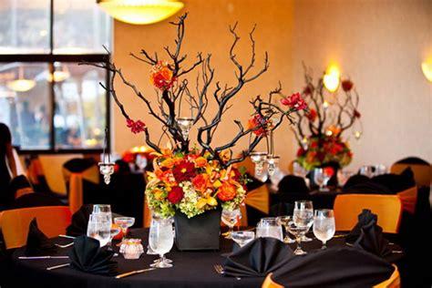 halloween meeting themes creative halloween wedding centerpiece ideas for autumn