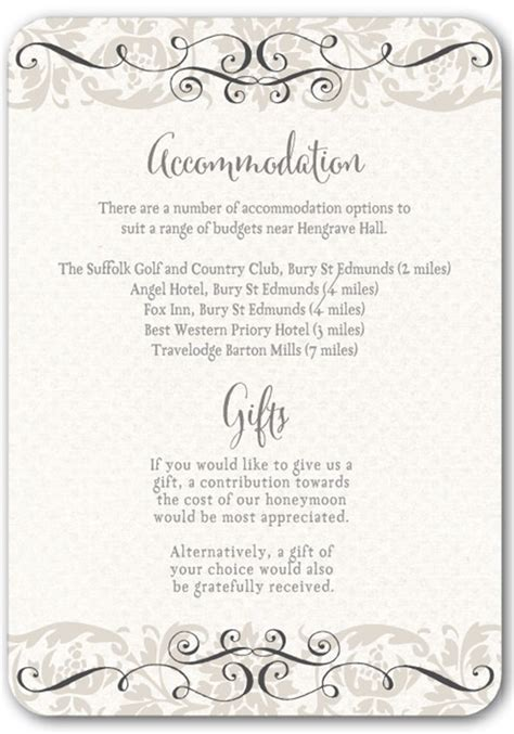 Wedding Invitations Inserts by Top Tips For Writing Your Wedding Information Insertsivy