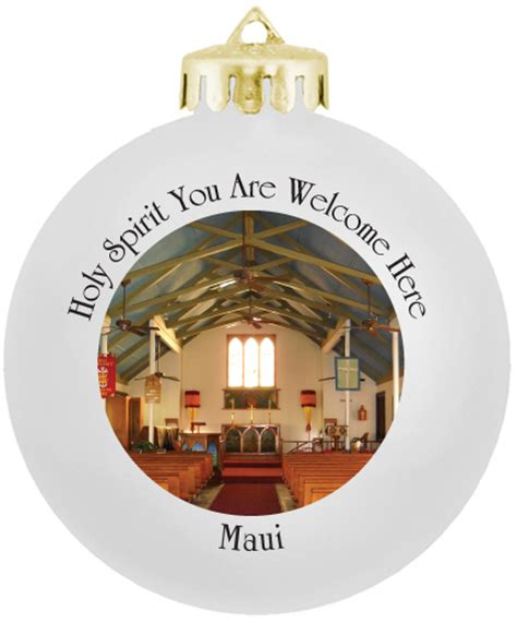 church christmas ornaments photo
