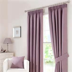 Lilac Blackout Curtains Lewis Pencil Pleat Blackout Curtain Linings Ivory