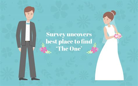 best place to find a new new survey uncovers the best place to find the one wedding journal