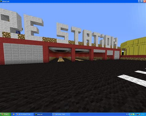 minecraft fire fire station minecraft project