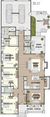 Narrow Home Plans by 25 Best Ideas About Narrow House Plans On Pinterest