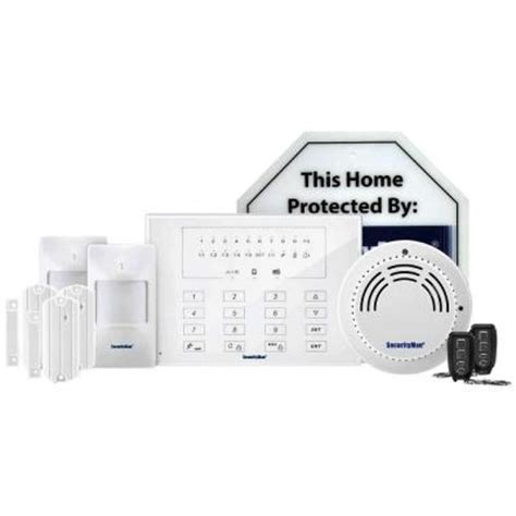 securityman deluxe kit of d i y wireless smart home alarm