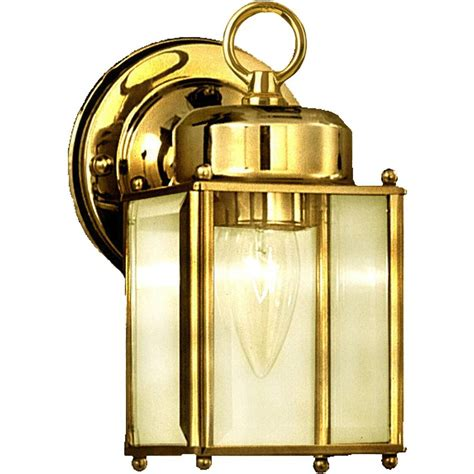 polished brass outdoor lighting volume lighting 1 light polished brass outdoor wall mount