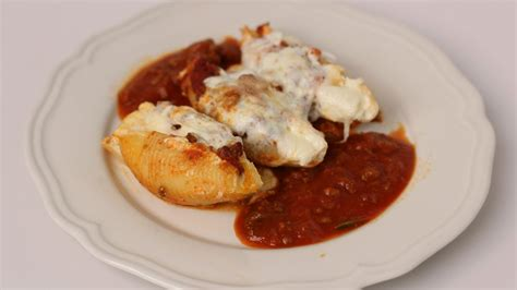 Recipes From Home Kitchen by Stuffed Shells Recipe Vitale In