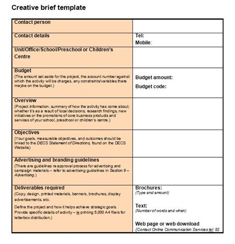 Project Brief Template Creating A Project Brief The Starting Point For Any Project Ganttpro