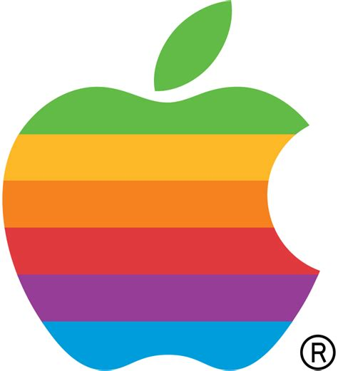 apple wikipedia file apple computer logo rainbow svg wikimedia commons