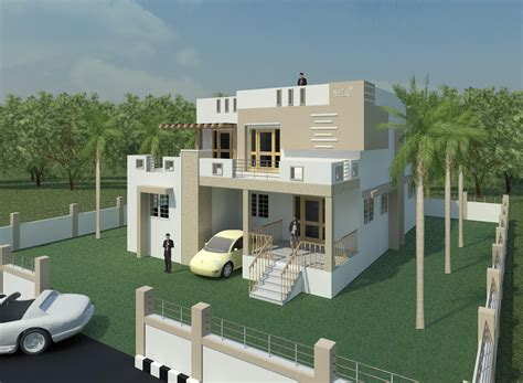 tamilnadu house elevation designs creative exterior design exterior 3d views house elevation designs minimalist style