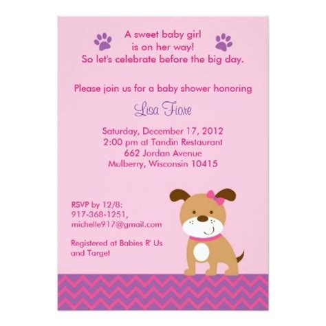 Puppy Baby Shower by 1000 Images About Puppy Theme Baby Shower Supplies On