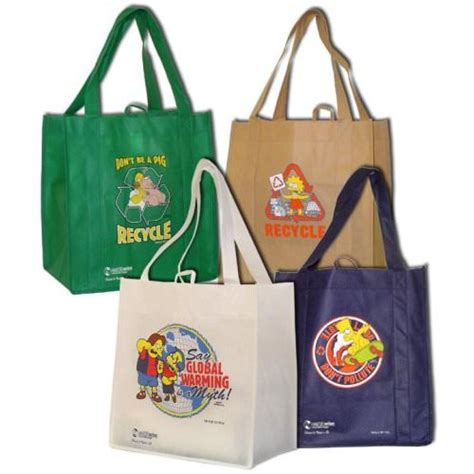 Name Simpsons Bag by The Simpsons Reusable Grocery Shopping Bags Thlog