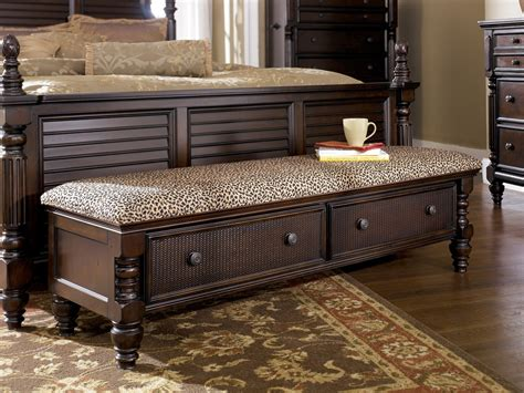 bedroom benches king size bed classic dark brown finished wooden bedroom benches feat