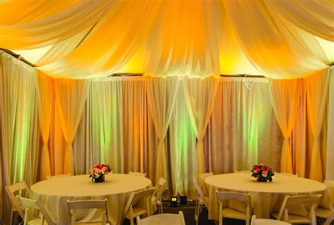 tent curtains tent swags event fabrics from rose brand